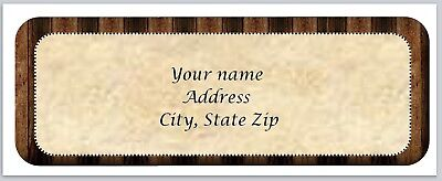 Personalized Address Labels Wooden Frame Buy 3 Get 1 Free Xco 882