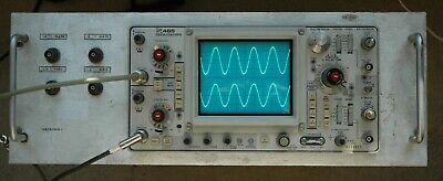 Tektronix 465 100mhz Oscilloscope Calibrated Sn B198827 With 2 Probes