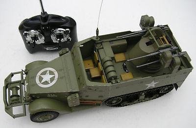 Matorro 1/16 RC M16 Multiple Gun Carriage Quadmount Halftrack