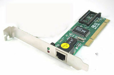 10/100 Mbps RJ45 Ethernet NIC LAN Network PCI Card Adapter for Computer PC