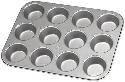 Stellar James Martin Non-Stick 12 Cup Muffin Cupcake Baking Tin Tray