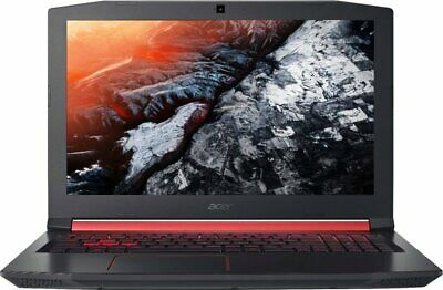 "Acer Nitro 5 15.6"" Intel i5-8300H/8GB/256GB SSD GTX 1050Ti Gaming Laptop Bundle"