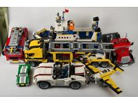 Lego - 7 Creator vehicle sets - almost 5000 pieces