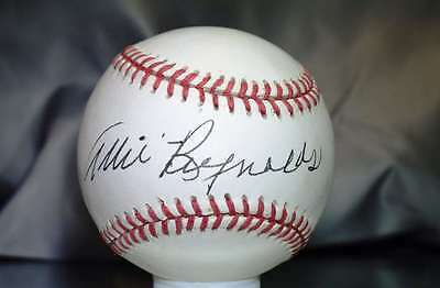 Allie Reynolds Psa Dna Signed American League Baseball  Authenticated Autograph