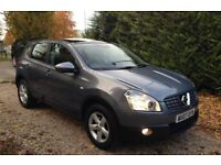 Nissan Qashqai 99k! 1.5 dCi Acenta 2WD 5dr - 2 owners