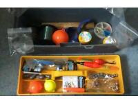 Pike fishing tackle box