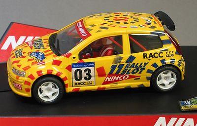 Ninco 1/32 Fiat Punto Catalunya Slot Car 50315