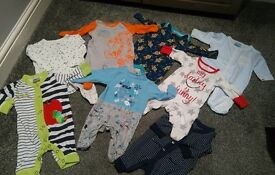 Lovely selection of baby boy grows