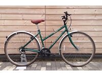 Raleigh Ladies Bike - Fully serviced and rides well - Town commuter leisure bicycle