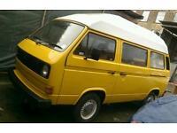 VW Camper Van T25 T3 Motorhome