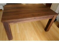 LIKE NEW - Baumhause Mayan Walnut Extending Dining Table