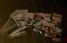 The art of knitting collection