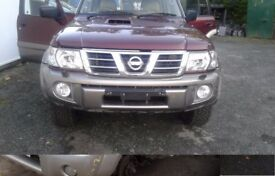BREAKING NISSAN PATROL MOST PARTS AVAILABLE ALSO FITTING SERVICE WITH 12 MONTH WARRANTY