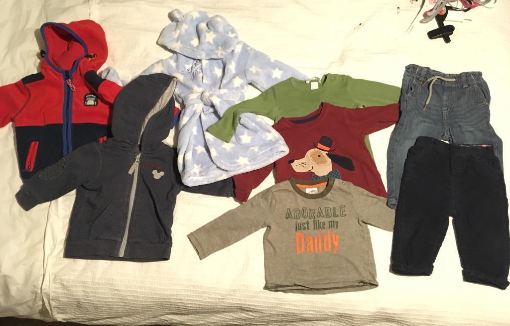 d0f0aeb378eb Boys winter clothes bundle 6-9 months
