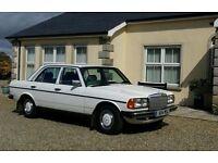 Classic Mercedes Benz W123 4 door Manual fully restored