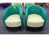 2 tone tub chairs (4available)