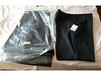 "3 Pairs of Mens Pinstiped Trousers 50"" x 29"" New with tags"