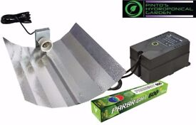 HYDROPONICS PARBRIGHT LIGHT KIT 600W BUDGET QUALITY GROW LIGHT KIT