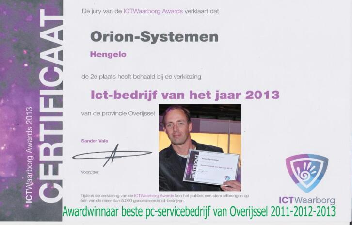 Orion-Systemen PC-Service