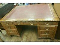 Large vintage writing desk