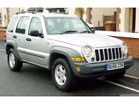 2006 JEEP CHEROKEE 2.8 CRD SPORT SILVER FACELIFT MODEL