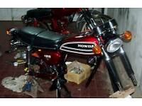 Motorcycle project Wanted