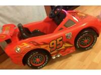 Lighting McQueen electric battery operated ride on car..