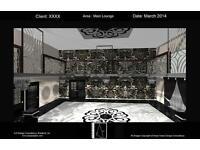 Interior Design Service For Restaurants, Hotels & Business.