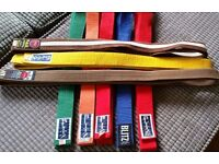BLITZ KARATE belt - colours & sizes - JUDO/KARATE