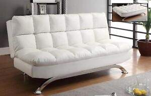 LORD SELKIRK FURNITURE - Sussex Futon Klik Klak in Black or White on Sale for $399.00