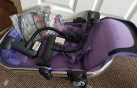 icandy double kit Palma violet seat