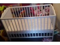 White Cot In Brilliant Condition, Collection Only
