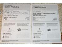Scott Bradlee's Postmodern Jukebox Tickets x2 Cliffs Pavilion Southend-on-Sea 14th Mar 7:00pm