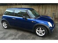 2003 AUTOMATIC MINI COOPER AIR CONDITIONING LEATHER TRIM ONE YEARS MOT AUTO MINI COOPER ONE S
