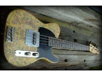Raygun Relic Short Scale Bass guitar