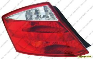 Tail Lamp Driver Side Coupe High Quality Honda Accord 2008-2010