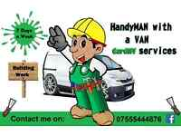 HandyMAN with a VAN - Cardiff (Full house renovations, property maintenance, waste removals)