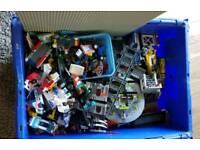 Box of mixed genuine lego