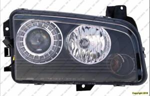 Head Lamp Passenger Side Hid High Quality Dodge Charger 2008-2010