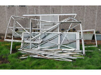 Aluminium greenhouse frame