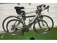 CBoardman halfords B98 ODE, carbon and aluminium with Shimano 50RA 9 speed
