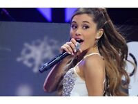 Ariana Grande, Birmingham, Front Row Seating, Hot Ticket Package.