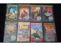 JOBLOT OF 8 SPECTRUM GAMES