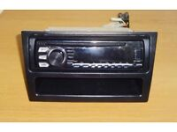 USED PIONEER DEH-1700UB CAR STEREO WITH HEAD UNIT CASING