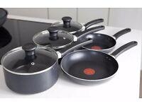 5pc Tefal Pot/Pan set