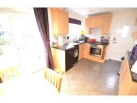 Kitchen for sale. Includes cupboards, cooker , extractor fan and work tops.