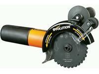 Evolution rage twin 125mm circular saw 240v