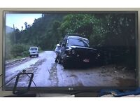"""New LG TV 32"""" still in the box."""