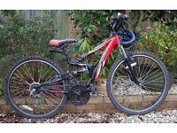 """Apollo FS26 17"""" frame mountain bike"""