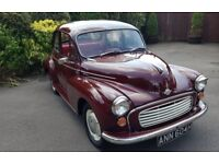 FOR SALE 1970 Morris Minor 1098 2 door saloon